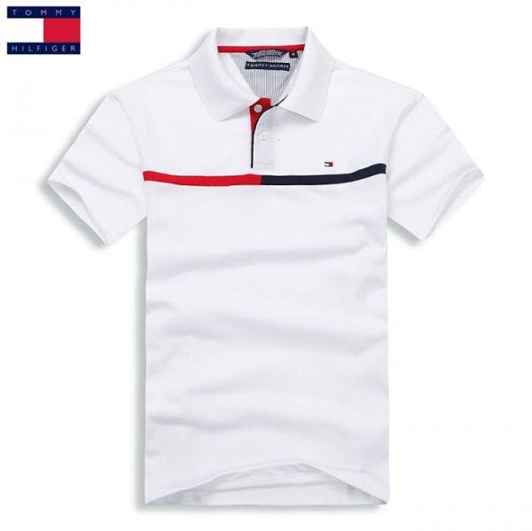 Camisa Pólo Masculina Tommy Hilfiger Branca Detalhes - Loja de ... 3c1ec1704ea80