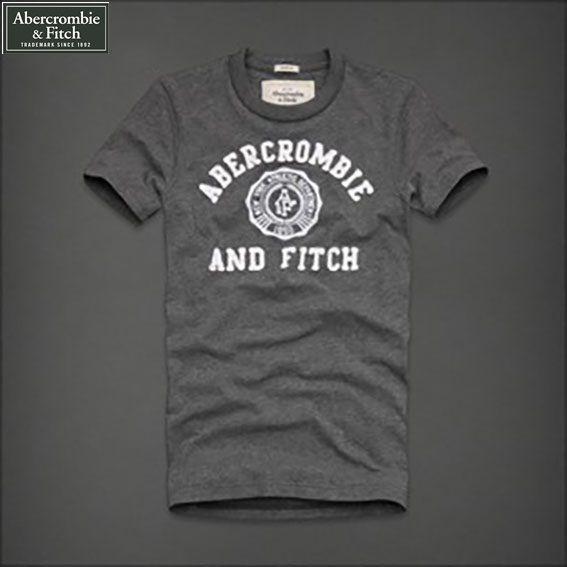 Camiseta Masculina Abercrombie And Fitch Cinza - Loja de Grifes ... eab1d249ea7e1
