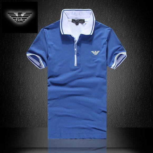 c4c8fced6b ... 555c5262b45 Camisa Pólo Armani EA7 Mens Azul - Loja de Grifes Camisas