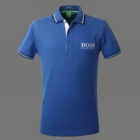 Camisa Polo Hugo Boss Mens Azul - Loja de Grifes Camisas f5fc6b50c39