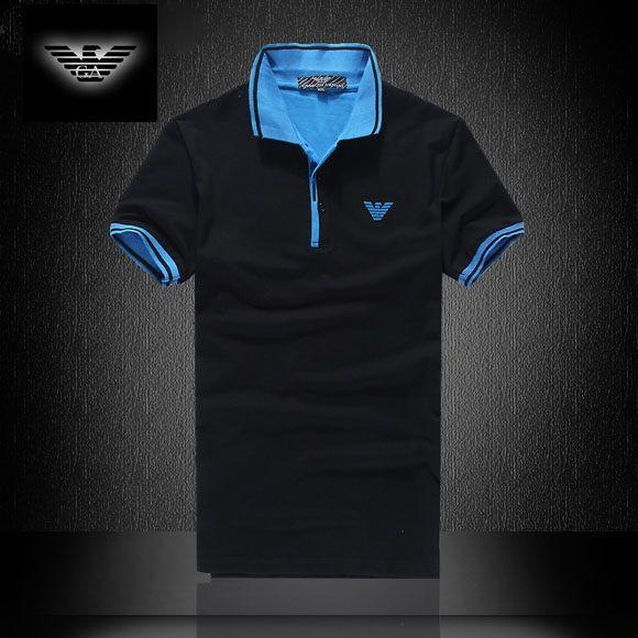 a84dd80f87 Camisa Pólo Armani EA7 Mens Preta - Loja de Grifes Camisas