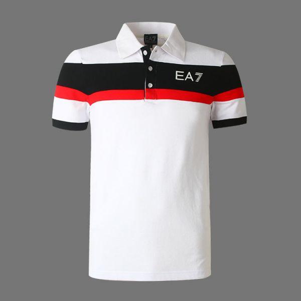 8380320d60 Camisa Pólo Armani EA7 Branca