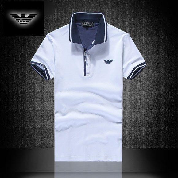 61678eba5a Camisa Pólo Armani EA7 Mens Branca - Loja de Grifes Camisas ...